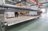 Automatische vertiefte 2017 Filterpresse mit S.S. 304 beschichtend für Lebensmittelindustrie