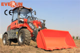 CER Approved Mini Radlader chinesisches Wheel Loader Qingdao-Everun 1.5 Ton mit Euroiii Engine