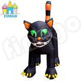 販売のためのHalloweenの屋外の巨大で膨脹可能な黒猫