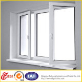 Hollow GlassのPVC /UPVC WindowかSliding Window/TiltおよびTurn Window/Fixed Window