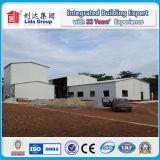 Полуфабрикат светлая конструкция здания пакгауза мастерской стальной структуры
