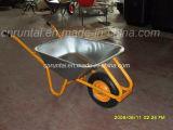 Carrinho de mão de roda de aço durável barato
