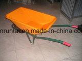 Carriola pneumatica Wb6401 della rotella della costruzione calda durevole di vendita