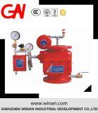 Valvola d'allarme dell'allagamento di alta qualità per il sistema di segnalatore d'incendio di incendio