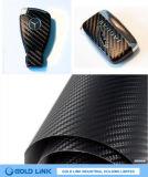 vinyle de fibre du carbone 3D pour l'enveloppe de voiture (GL-CK016)
