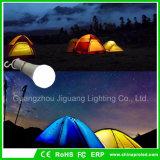 Iluminação portátil de acampamento ao ar livre do bulbo da barraca da lanterna do diodo emissor de luz do bulbo 5W que caminha o bulbo Emergency
