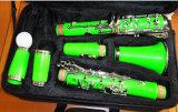 Clarinet étonnant de Bb de clés de la couleur 17 du rouge/White/Green/Blue/Yellow/Purple