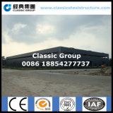 Taller mecánico de la fábrica de la estructura de acero del automóvil clásico