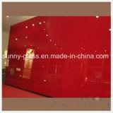 赤く黒い塗られたガラス4mm-12mm