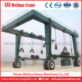 Кран на козлах гидровлической электрической шлюпки Weihua поднимаясь