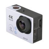 cámara alejada del deporte de WiFi del estilo del héroe 4 de Gopro del regulador de 4k Ultra-HD Kamera Akcja 2.4G