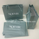 Bolsa de papel impresa insignia de encargo certificada Fsc de embalaje del regalo