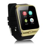 O relógio esperto Mtk6572 Dual cartão da sustentação SIM da câmera da ROM 3G WiFi GPS do RAM 4GB de Bluetooth 4.0 Smartwatch 512MB do núcleo contra S83 S55