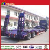 30-80 Tonnen Ladung-halb LKW-niedriges Bett-Dienstschlußteil-mit niedriger Plattform