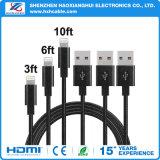 8pin голодают поручая кабель USB для вспомогательного оборудования iPhone