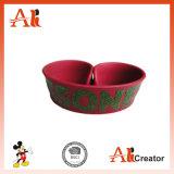 Kundenspezifisches Klaps-Band-Silikon-Klaps-Armband mit Silkscreen-Drucken