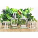 OEM/ODM vendem por atacado o frasco de perfume de cristal com pulverizador da bomba