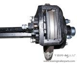 Essieu de la remorque avec freins mécaniques