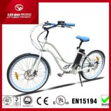 "26"" Lady Aluminum Engine Alloy Wheels Chopper, Electric Bike Beach Cruiser (TDE01Z-1215)"