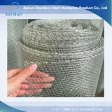 Borda Closed tela de fio tecida galvanizada