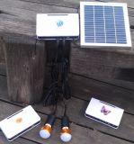 Système de d'éclairage d'éclairage LED de maison d'énergie solaire dans le support des prix et de qualité