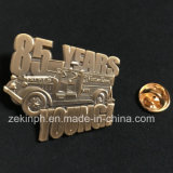 Emblema antigo personalizado do Pin de metal do ouro 3D