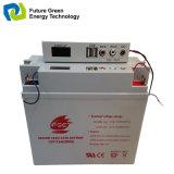 zeigen nachladbare gedichtete Säure-Batterie des Leitungskabel-12V17ah mit LED an