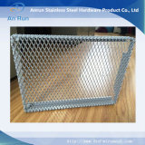 Soffitto della maglia del metallo ampliato alluminio della decorazione