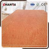 Dos madera contrachapada caliente de Bintangor del grado de la prensa BB/CC de las épocas para el mercado de Medio Oriente