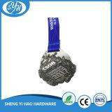 De antieke Zilveren Geplateerde Medaille van Sporten met Lint