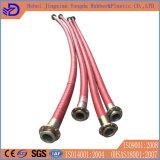 Tubo flessibile nero di rinforzo della gomma del grande diametro del filo di acciaio
