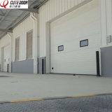 Elektrischer Schnittfinger-Schutz-industrielle Tür mit Fenster-Einlagen