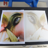 Papier sec rapide à grande vitesse de sublimation de teinture pour le transfert de tissu de polyester