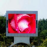 Pantalla a todo color al aire libre de la visualización de LED de SMD P10 HD
