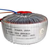 Transformador Toroidal do núcleo com eficiência elevada