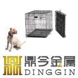 Gaiolas de aço do cão da alta qualidade com 2 portas