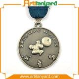 Medaglia antica personalizzata del metallo di placcatura