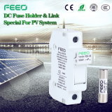 Cylinderical 1p 32A Utilisation solaire 1000V Support de fusible Panneau de fusibles à 20 A DC