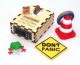 Imprimantes en métal de DIY, flexibles et capables de s'adapter de l'appareil de bureau 3D pour le jouet et l'instruction
