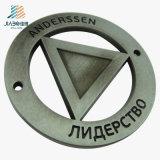 Emblema feito sob encomenda do emblema do carro de metal do logotipo do presente relativo à promoção de prata antigo com magnético