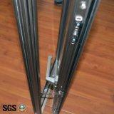 Finestra di alluminio della stoffa per tendine di profilo di alta qualità con la multi serratura di punto K03066