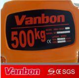 500kg choisissent l'élévateur à chaînes d'élévateur électrique de vitesse avec le chariot