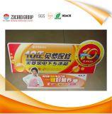 Изготовленный на заказ рекламируя доска извещении о предупредительного знака PVC PP подарков