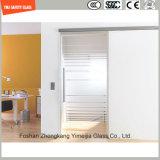 벽을%s 3-19mm 안전 건축 유리, 강화 유리, 박판으로 만드는 유리, 패턴 편평한 & 구부려진 유리 또는 담 또는 분할 또는 SGCC/Ce&CCC&ISO를 가진 샤워