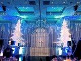 クリスマスの照明80W LEDのロゴのGobo屋外プロジェクター雪ライト
