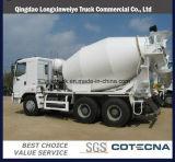 Caminhão do misturador concreto de Sinotruk HOWO 6X4 10cbm 336HP