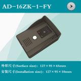 Neues videotür-Telefon-Shell (AD-16ZK-1-FY) mit Regen-Deckel-Shell
