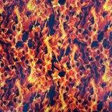 Печать Tskr9049 Aqua пленки пленок печатание перехода воды черепа и пламени ширины Tsautop горячая продавая 0.5m/1m гидрографическая