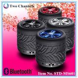 Mini altavoz de Bluetooth del coche del altavoz Shaped fresco más nuevo del neumático