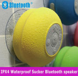 Altavoz sin hilos de la ducha de Bluetooth del nivel Ipx4 de la taza impermeable de la succión mini